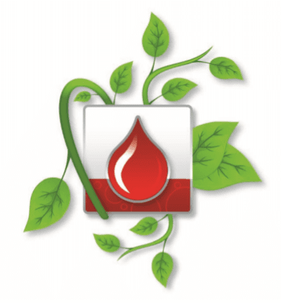 blood droplet graphic